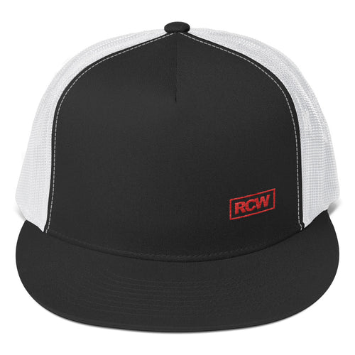 Low Key RCW Red Box Mesh Snapback Hat