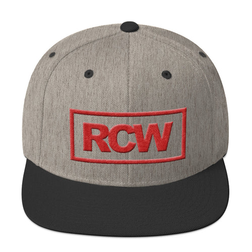 RCW Red Box Snapback Hat