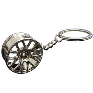Split 7-Spoke Keychain