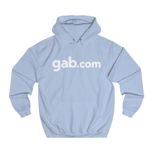 Pullover Hoodie With Back Emblem