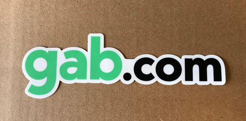 Gab.com Bumper Sticker