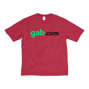Gab.com Men's Heather Dri-Fit Tee