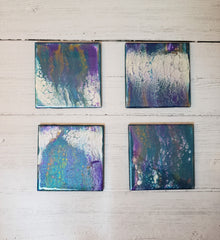 Marigot Art Ceramic Coasters