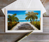 Marigot Art Miami Florida Original Art Stationary Greeting Cards