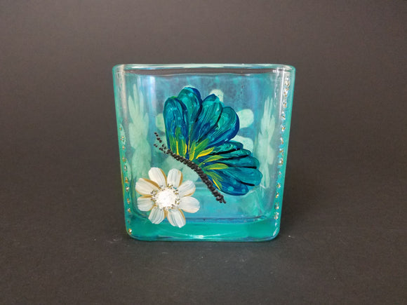 Candle Holder, Butterfly/Dragonfly