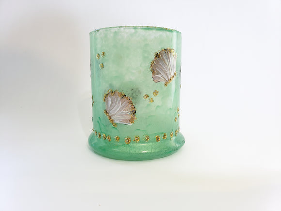 Candle Holder, Round Scallop