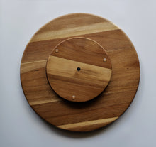 Wood Lazy Susan Serving Tray Bottom