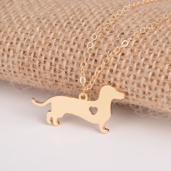 Dachshund Necklace - Necklace
