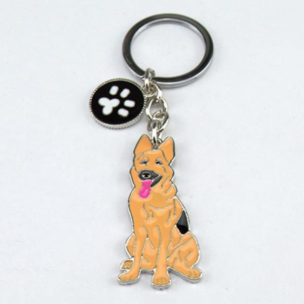 German Shepherd Keyring - Key Ring