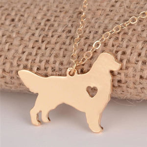 Golden Retriever Necklace - Necklace