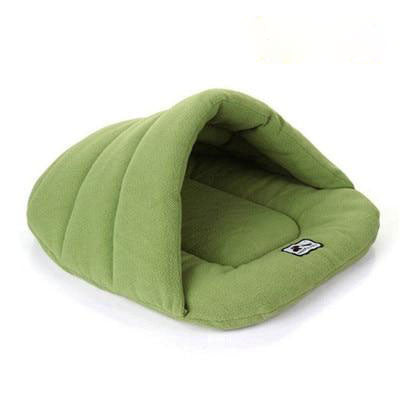 Green Puppy Bed House