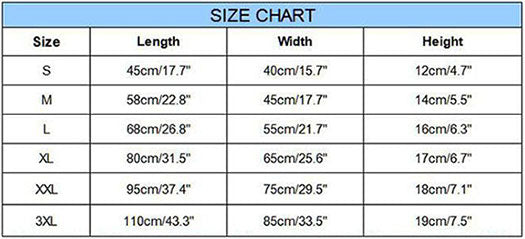 Sofa Dog Bed Size Chart Guide