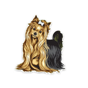 Yorkshire Terrier Sticker - Sticker