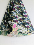 Shoulder bento bag , origami fabric tote bag , Japanese inspired eco friendly bag | Cats & Tigers