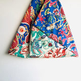 Origami shoulder tote bag ,Japanese inspired bento bag | Lucky dragons world