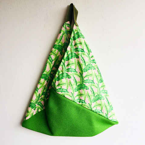 Tropical Greenery -  bento bag