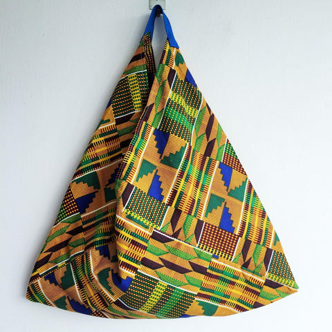 Shopping tote bag African Fabric | Nigeria -  bento bag