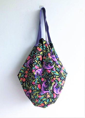 Shoulder eco friendly fabrib bag, summer origami sac bag, cool fabric bag | Macaco