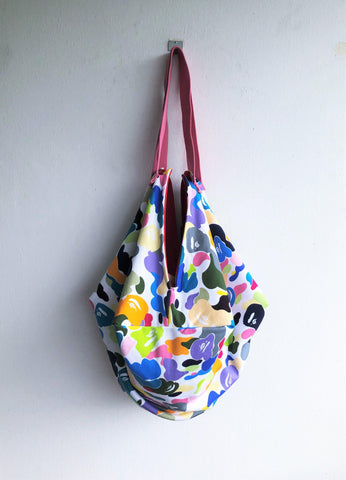 Colorful and unique shoulder orgami bag eco friendly sac bag | Colores y monos - jiakuma.myshopify.com