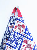 Origami bento bag , batik fabric eco friendly shoulder bag | Yogyakarta
