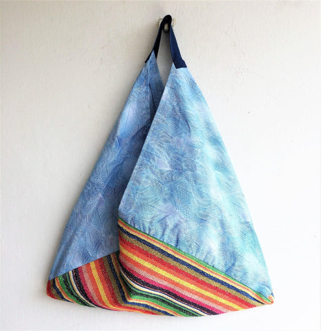 Handmade tote eco friendly bag | Ocean Of Lines - jiakuma.myshopify.com