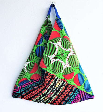 Colorful eco friendly shopping original shape bag | Mirrors In Africa -  bento bag