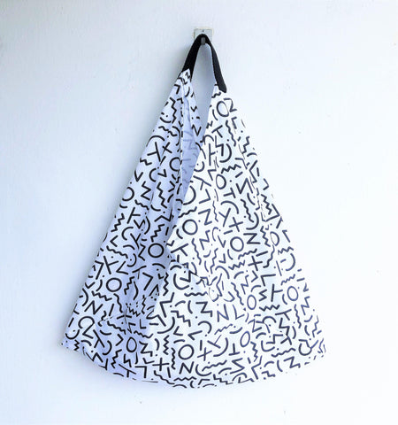 Cool contemporary bento shoulder origami bag | Art of signs