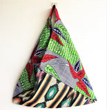 Eco friendly colorful shopping reusable origami bento bag | Boho Africa - jiakuma.myshopify.com