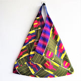 Eco friendly shopping bag | African Geometry -  bento bag
