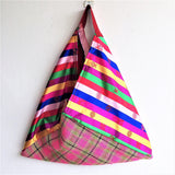 Colorful strips summer bento  bag - jiakuma.myshopify.com