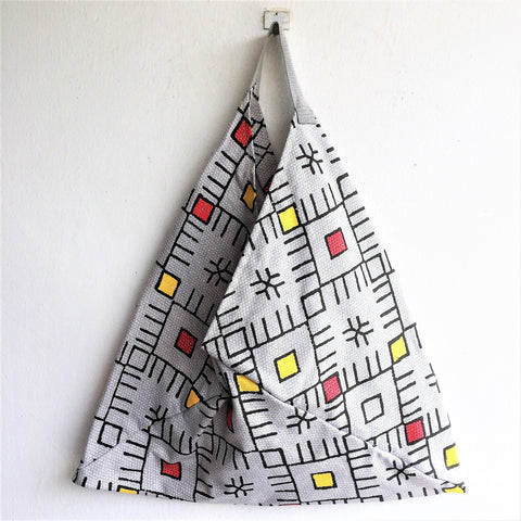 Geometric hobo bento bag summer collection | Dongdemon - jiakuma.myshopify.com