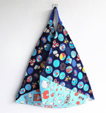 Origami traingle Japanese bento bag , eco friendly shopping bag | Hokkaido - jiakuma.myshopify.com