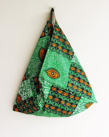 Original eco friendly bento bag | African eyes -  bento bag