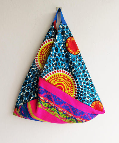 Unique colorful eco friendly bento bag | African planets - jiakuma.myshopify.com