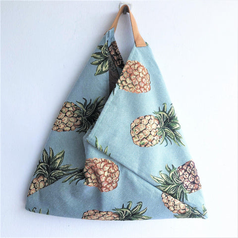 Origami bento bag colorful shoulder eco friendly bag | Ananas