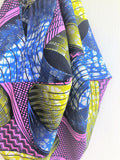Cool African fabric origami sac bag, eco friendly colorful handmade shoulder bag | Infinite Africa