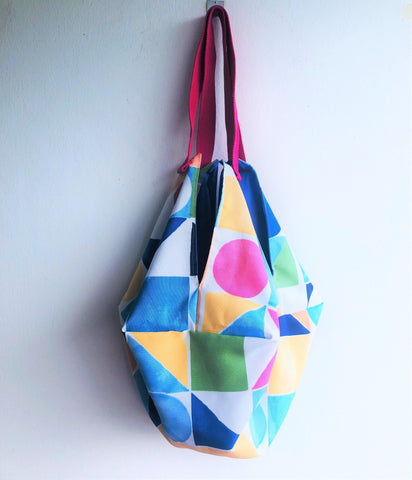 Colorful eco friendly handmade origami bag | Trencadis - jiakuma.myshopify.com
