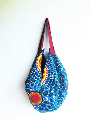 Sac shoulder fabric handmade origami bag | Planet Africa