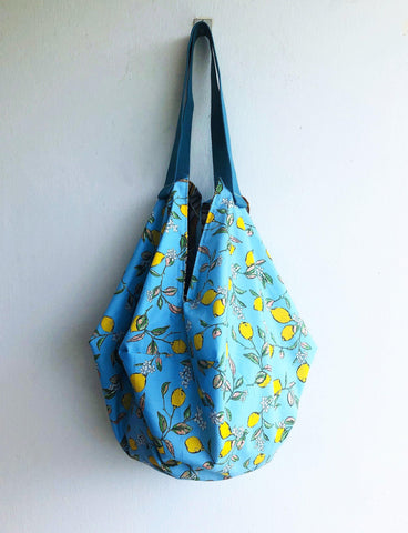 Shoulder sac origami summer shoulder cute lemons bag | Alex vintage