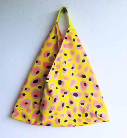 Origami bento bag, shoulder fabric colorful eco tote bag | Miro