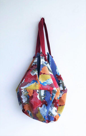 Sac origami Japanese fabric shoulder eco bag | Japanese landscape - jiakuma.myshopify.com