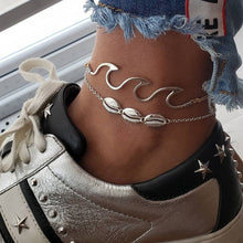 Wave Ankle Bracelet - Amour Smiles
