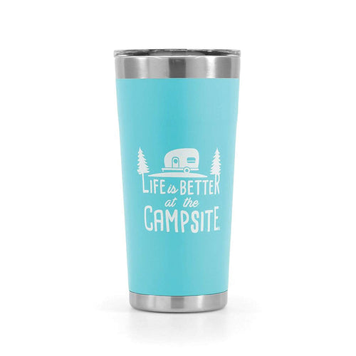 Life is Better at the Campsite 20oz tumbler