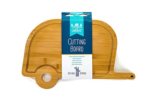 Retro Bamboo RV Cutting Board