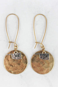 Oklahoma Charm Earrings
