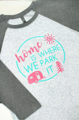 Home Is Where We Park It Tri-Blend T-shirt