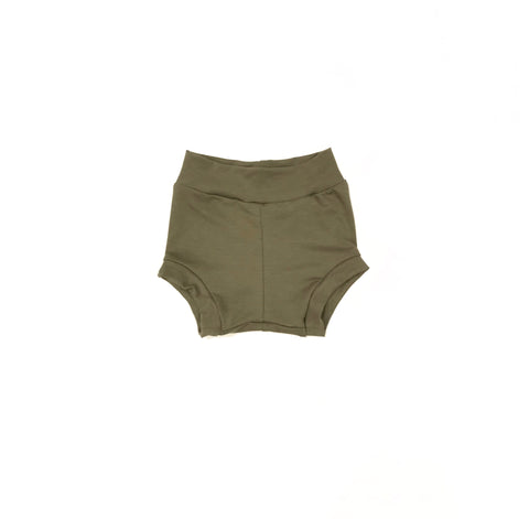 Bamboo Shorties in Soft Olive