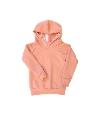 Soft Pink Bamboo Hoodie