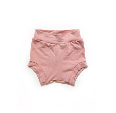 Bamboo Shorties in Blush