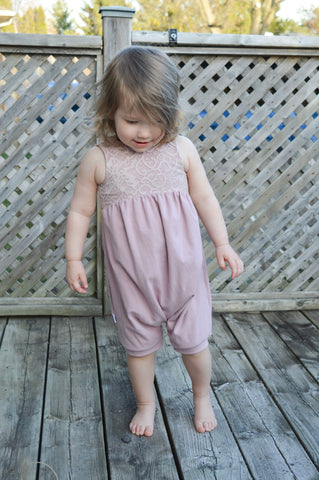 Summer Romper in Enchanted Lace
